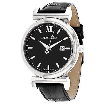 Mathey Tissot Men's Black Dial Watch - H410ALN
