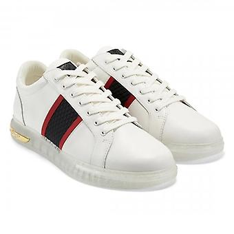 Ed Hardy Clear Blade Low Top White Trainers