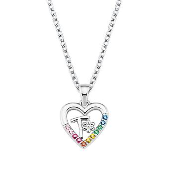 Princess Lillifee Kids Necklace Silver Letter Chain T Girls 2027894