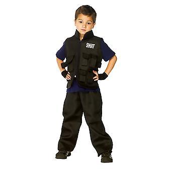 SWAT barnekostyme