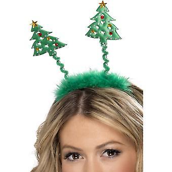 פס השיער אשוח בופיפר עץ חג המולד