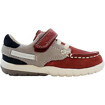 Clarks Softlyflage Fast Red Combination 26105921 Toddler
