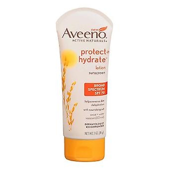 Aveeno active naturals protect + hydrate lotion, spf 70, 3 oz