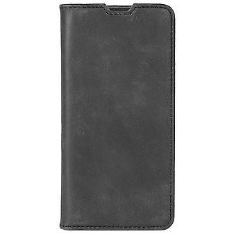 Krusell Sunne 2 card Folio portemonnee Samsung S10 Case-vintage zwart