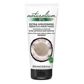 Výživná maska na vlasy Kokosový keratín Naturalium (200 ml)