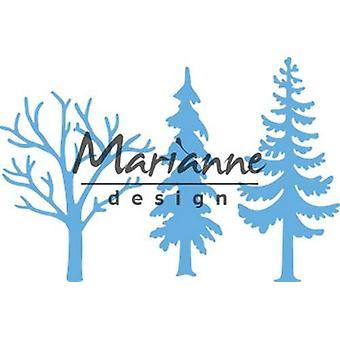 Marianne Design Creatables Cutting Dies - Drzewa leśne LR0556 8 x 18 cm