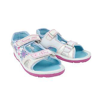 Frozen Anna And Elsa Girls Sandals