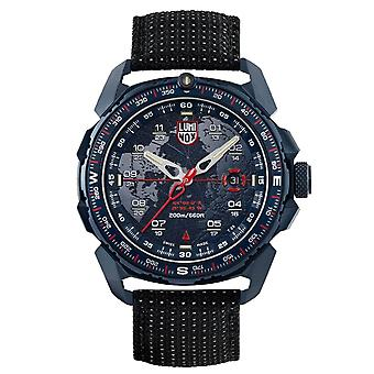 Luminox is-sar arktisk kvarts blå ekstern svart nylon stropp menns watch XL.1203 RRP â £ 699