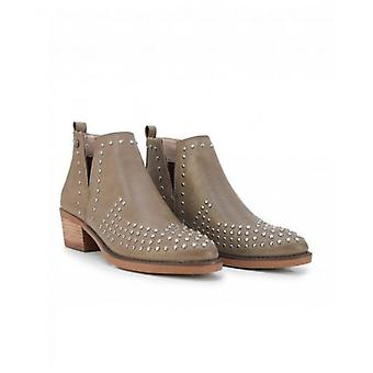 Xti Stud Detail Ankle Boots