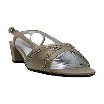 David Tate Wish Women's Sandal 7 B(M) US Champagne