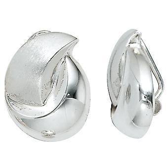 مقاطع الأذن 925 الاسترليني الفضة rhodium مطفأة مقاطع الأقراط