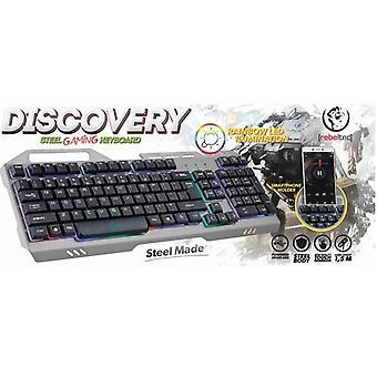 Rebeltec DISCOVERY gaming tastatur-METAL