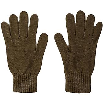 Johnstons of Elgin Cashmere Gloves - Dark Olive