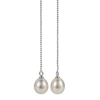 la mia Adriana perla PREMIUM colore 925 donne-Ohrh?nger argento rodiato Wei_ - acqua dolce-Zuchtperle PR7-66