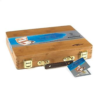 Winsor & Newton Professional Watercolour Half Pan Bamboo Box Set