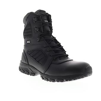 Magnum Response III 8.0  Mens Black Wide 2E Leather Tactical Boots Shoes