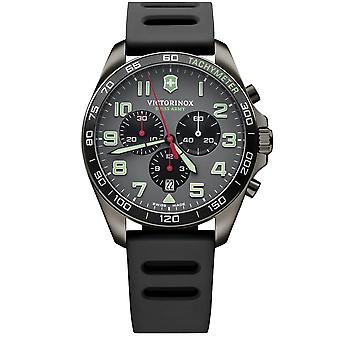 Victorinox schweiziska armén titta FieldForce sport Chrono Mens Watch 241891