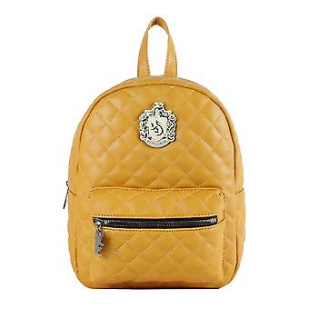 Harry Potter Hufflepuff Quilted Mini Backpack