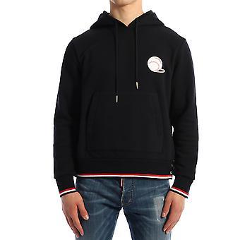Thom Browne Mjt222a03377415 Men's Blue Cotton Sweatshirt