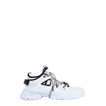 Mcq By Alexander Mcqueen 599097r26781065 Women's White Polyurethane Sneakers