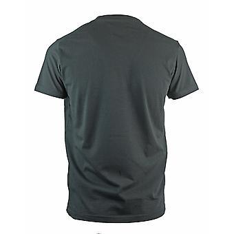 Roberto Cavalli Card Logo Black T-Shirt