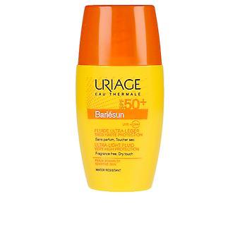 New Uriage Bariésun Ultra-light Fluid Very High Protection Spf50+ 30ml For Women