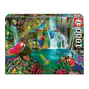 Puzzle Tropical Parrots Educa (1000 pcs)