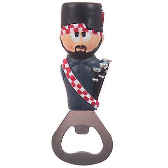 Ted Smith Scottish Piper Bottle Opener