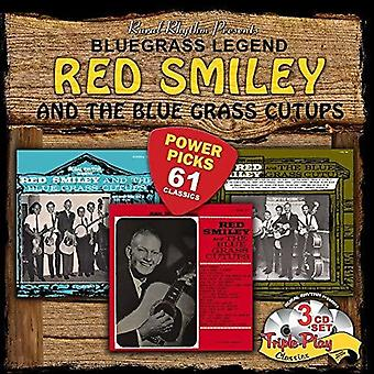 Red Smiley - Bluegrass Power Picks - 61 Classics [CD] USA import