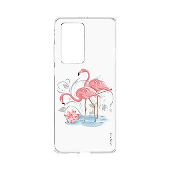 Hull For Huawei P40 Pro Soft Flamingo Rose