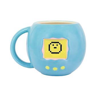 Tamagotchi Hitze empfindliche Farbänderung geformt Becher ideal für Kaffee & Tee Retro
