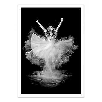 Art-Poster - Powder Burst - Pauline Pentony MA 50 x 70 cm