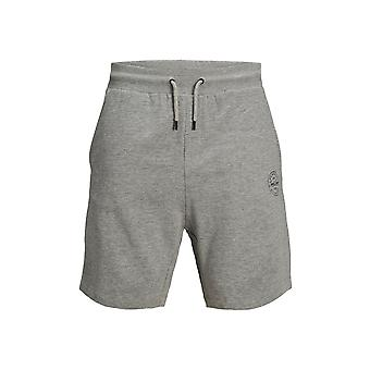 Jack & Jones Mens JJi Shark Elasticated Cotton Sweat Shorts