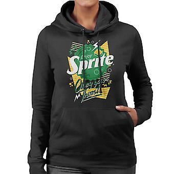 Sprite 90s Bottlecap Obey Your Thirst Women's Hooded Sweatshirt