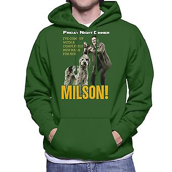 Friday Night Dinner Naming Milson Men's Hooded Sweatshirt
