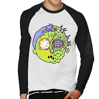 Rick und Morty Mutant Morty Men's Baseball langärmelige T-Shirt