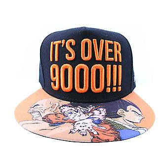 Dragon Ball Z Baseball Cap Zijn Meer dan 9000 Logo nieuwe officiële Snapback