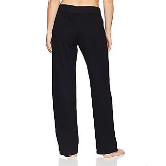 Merke - Mae Kvinner&s Loungewear Open Leg Pyjamas Bukse, Svart, S