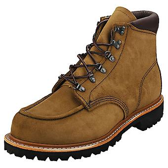 Red Wing 6-inch Zagerij Mens Classic Boots in Olive