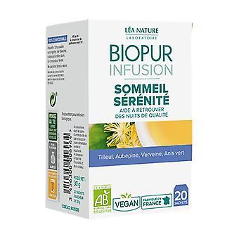 Organic serenity sleep infusion 20 infusion bags