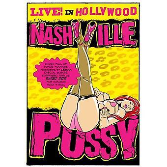 Nashville Pussy - bor i Hollywood [DVD] USA import
