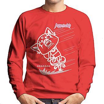 Agitretsuko Full Blown Rage Men's Sweatshirt