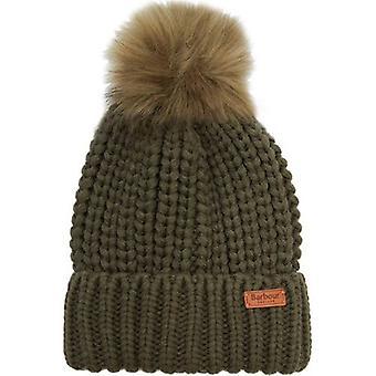 Barbour Saltburn Beanie Pom Pom Hat
