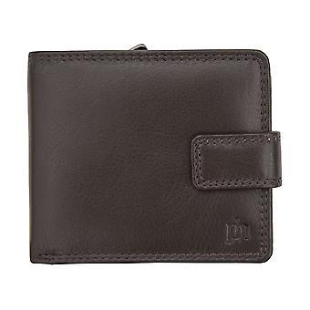 Primhide Mens Leather RFID Blocking Wallet Gents Notecase Card Holder 3144