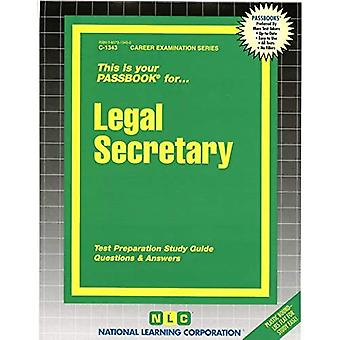 Legal Secretary: Test Preparation Study Guide, Questions & Answers