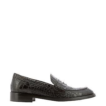 Guglielmo Rotta 5414lluisianaebony Women's Brown Leather Loafers
