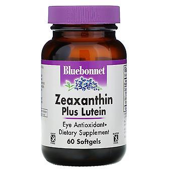 Bluebonnet Nutrition, Zeaxanthin Plus Lutéine, 60 Softgels
