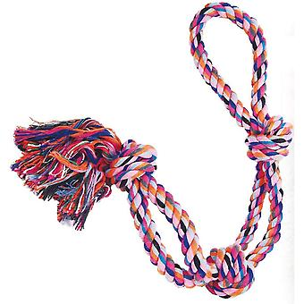 Gloria Double Cotton Rope 3 Knots Dog Toy