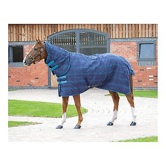 Shires Tempest Plus 100 Stable Combo - Navy/blue Check