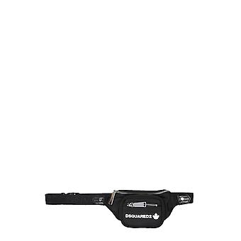 Dsquared2 Bbw0022117032582124 Women's Black Polyester Pouch